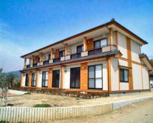町公営住宅(2階建て)
