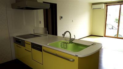 対面キッチン2
