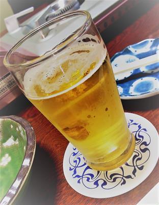 寿し清_ビール