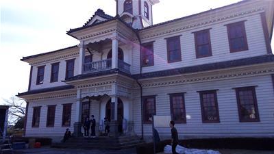 旧伊達郡役所外観