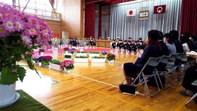 小学校入学式の様子