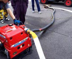 消防小型ポンプ