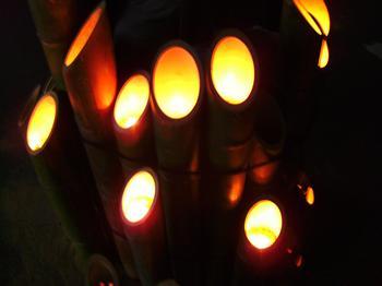 竹灯篭まつり2
