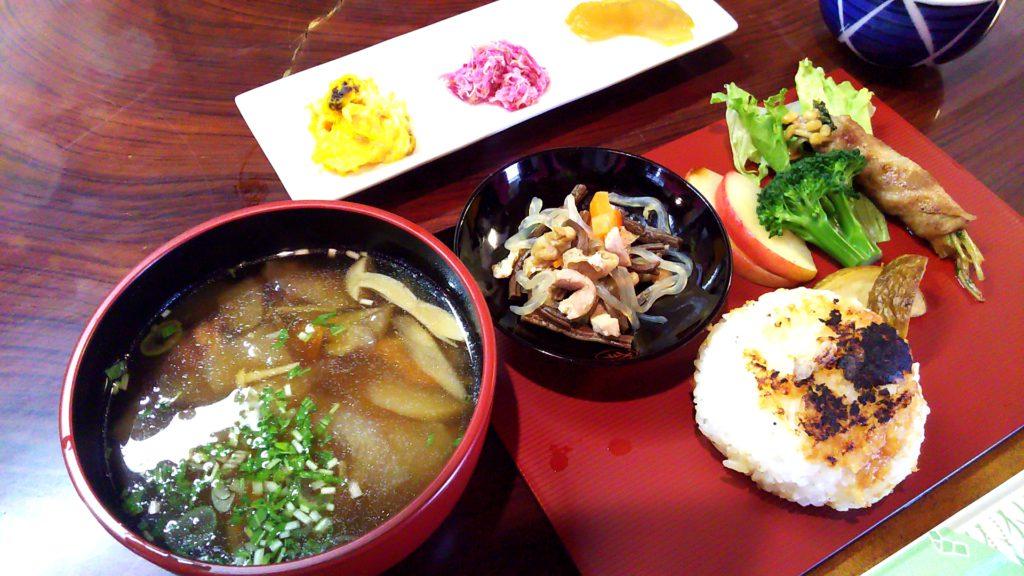 桑折宿ツアー昼食
