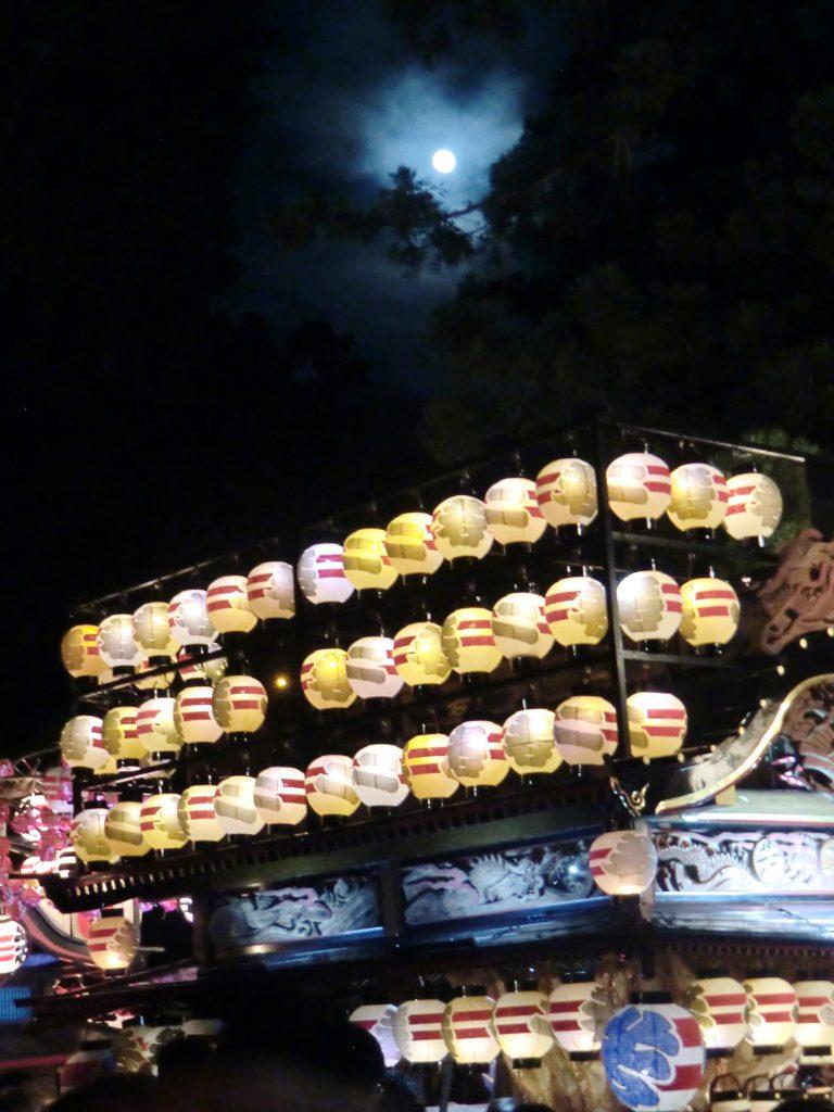 諏訪神社例大祭_夜の様子3