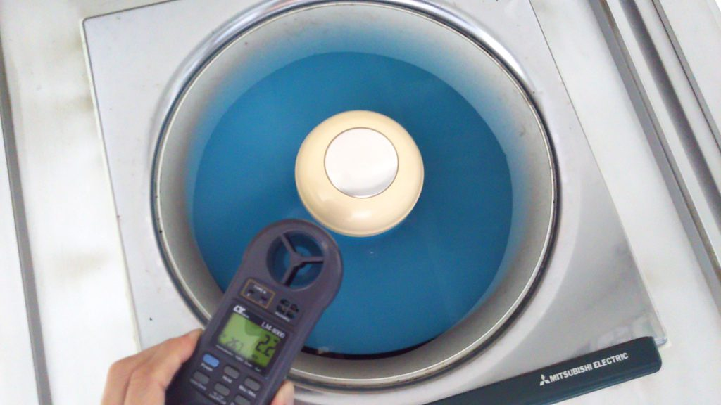 換気扇風量測定