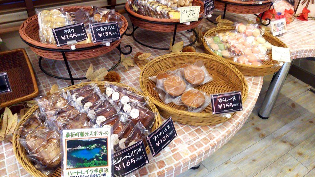 大野屋の焼き菓子