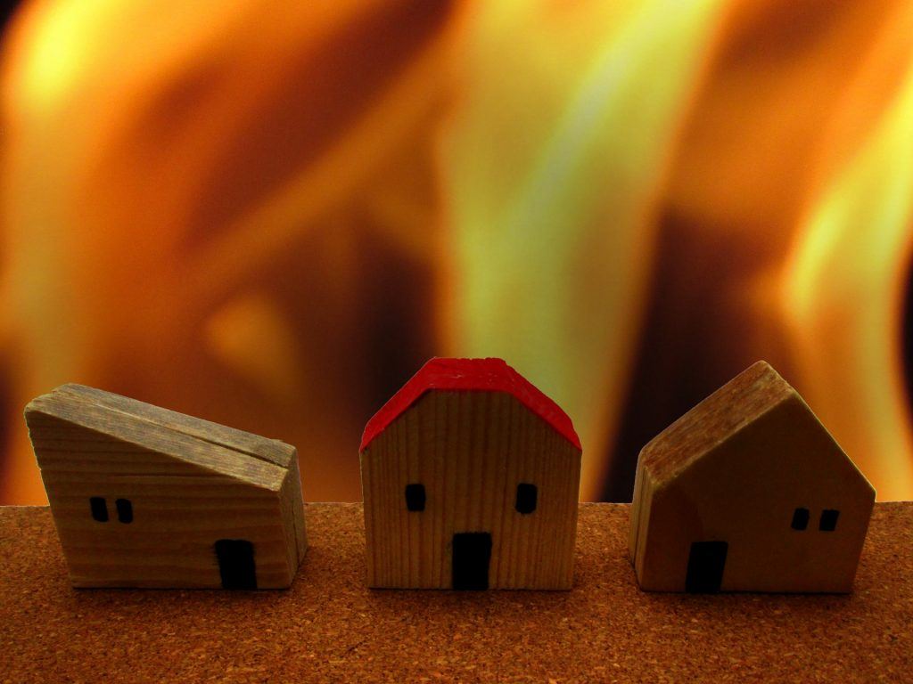 火事イメージ