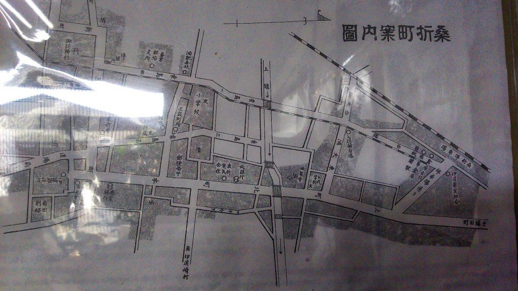 桑折町古地図