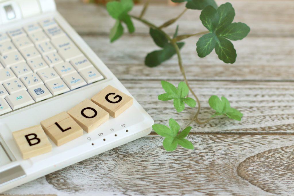 ブログとノートPC