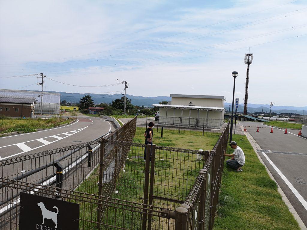 道の駅国見ドッグラン_入口2