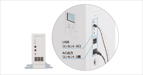 蓄電システム_USB